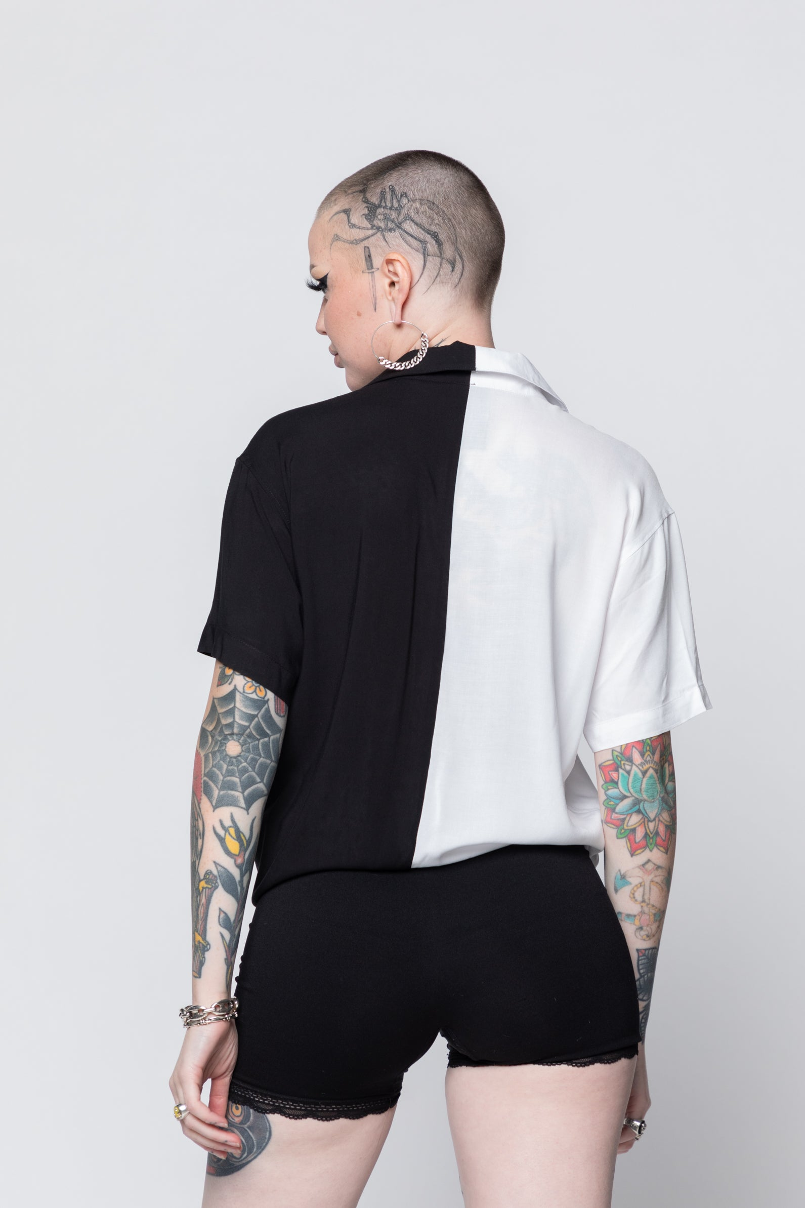 Eternal Split S/S Woven Top