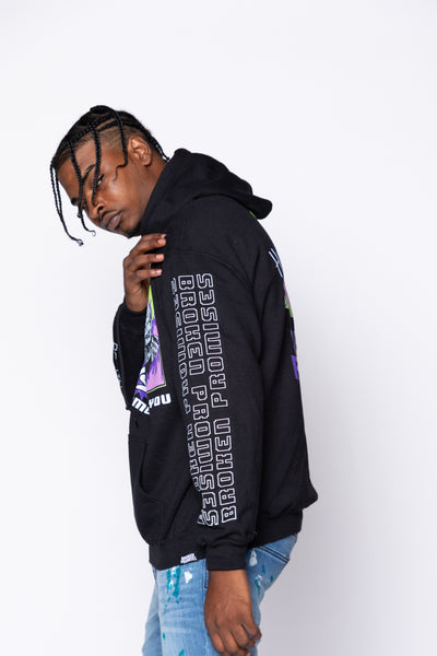 Continue All a Game Hoodie Blk