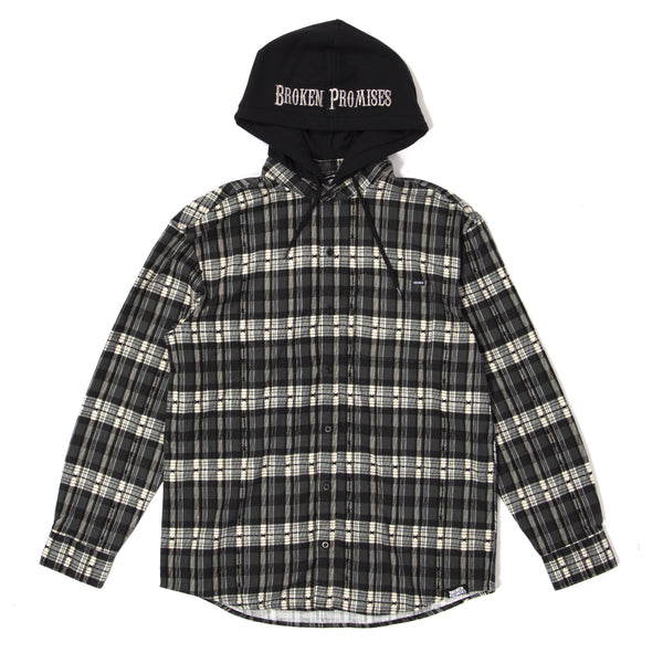 Risk It All Flannel Hoodie