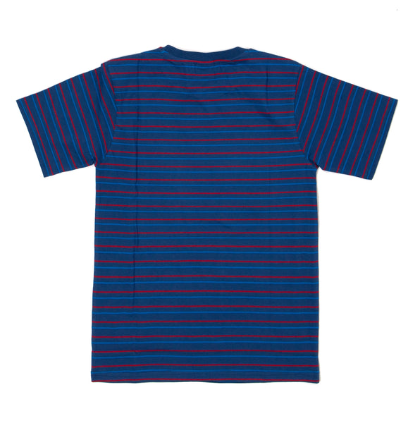 Ruthless Striped Tee Blue/Red