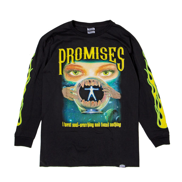 Soul Searching L/S Black