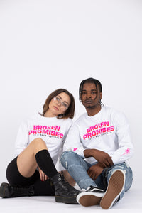 Burn Together L/S White