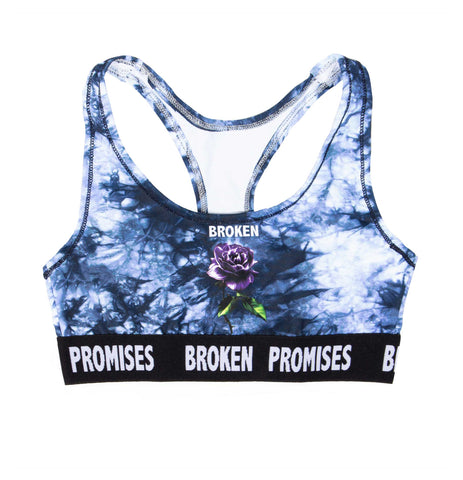 Crystal Wash Thornless Sports Bra