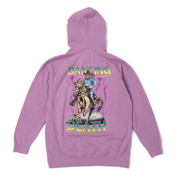 Widowmaker Pigment Dye Hoodie Purple