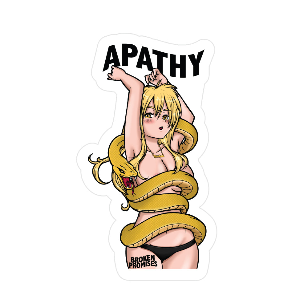 Apathy Anime Sticker BP
