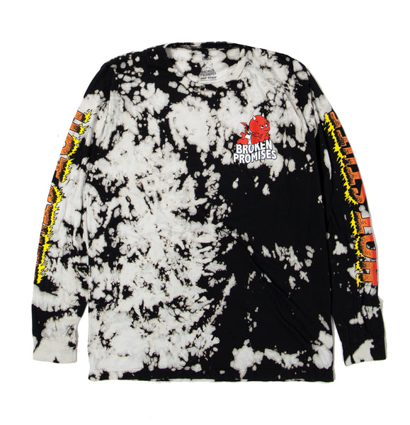 Daydreaming L/S Tee Black - BP x Hot Stuff