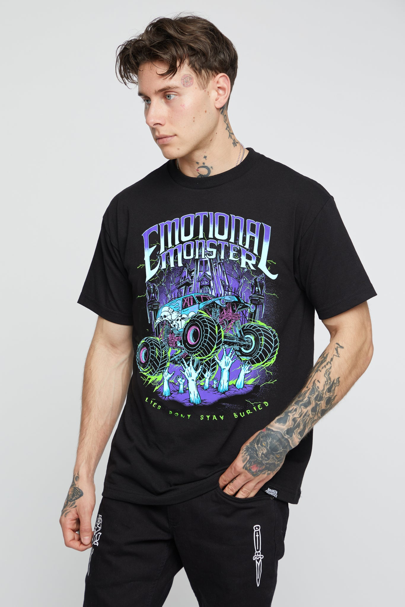 Buried Alive Tee Black