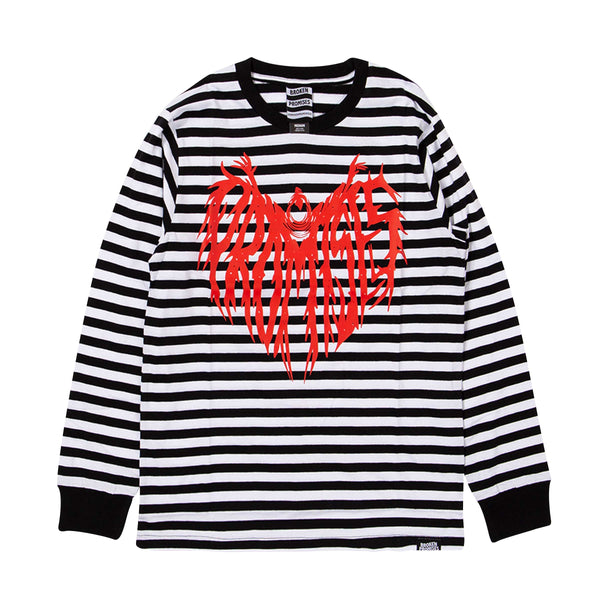 Death Cloak Stripe L/S