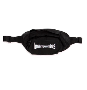 Morbid Patch Waist Bag Black