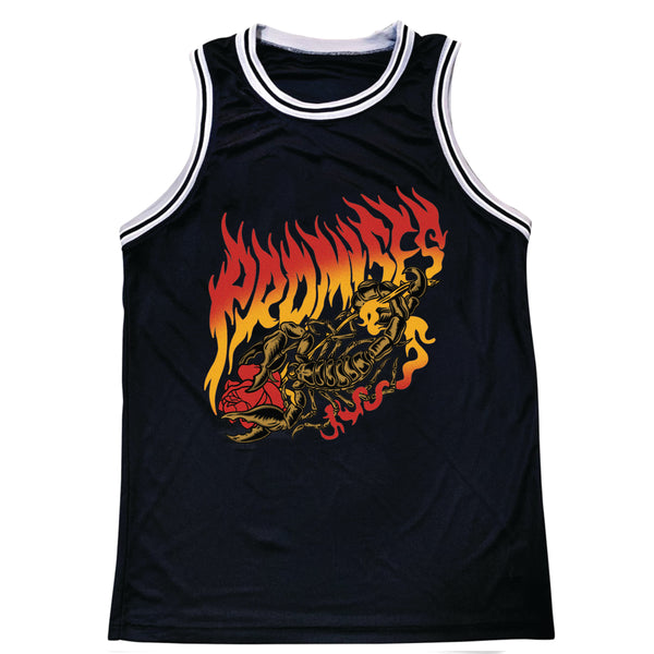 Scorpion Burn Basketball Jersey