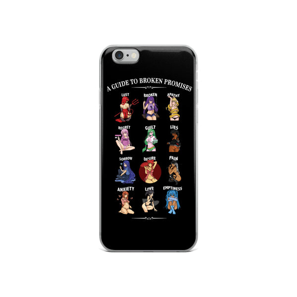 Anime Feeled Guide iPhone Case