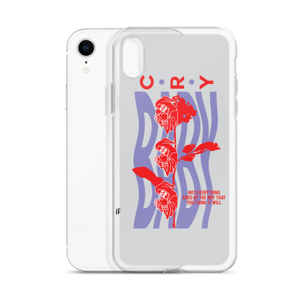 Cry Baby iPhone Case