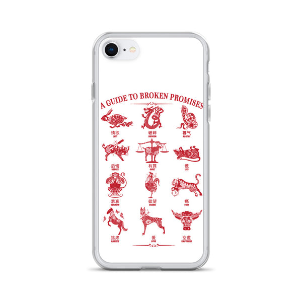 Lunar Guide iPhone Case