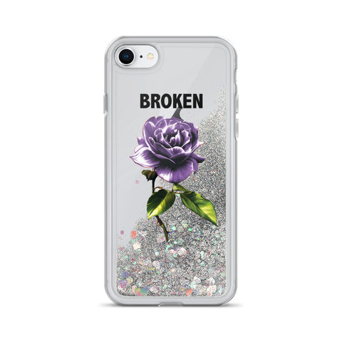 Thornless Liquid Glitter Phone Case