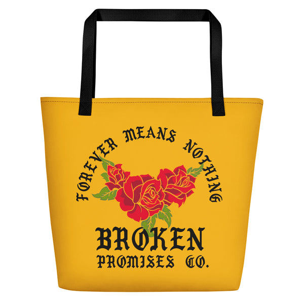 Forever Means Nothing Beach Bag