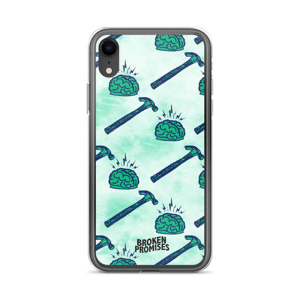 Brain Waves iPhone Case