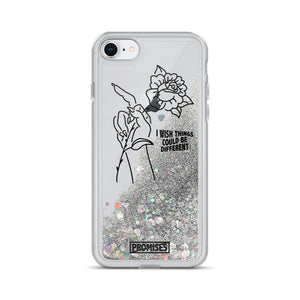 Could Be Different Liquid Glitter Phone Case
