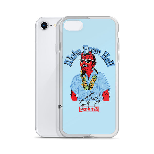 Aloha From Hell iPhone Case