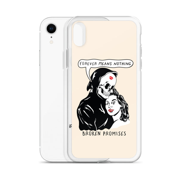 Last Kiss iPhone Case