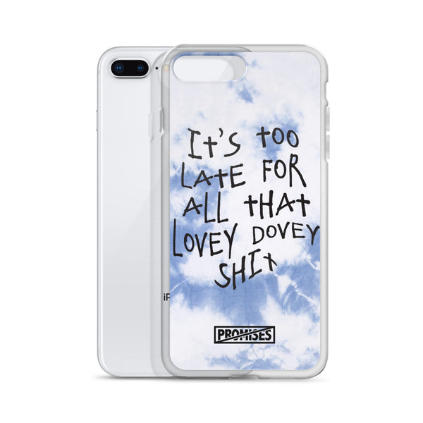 Too Late iPhone Case