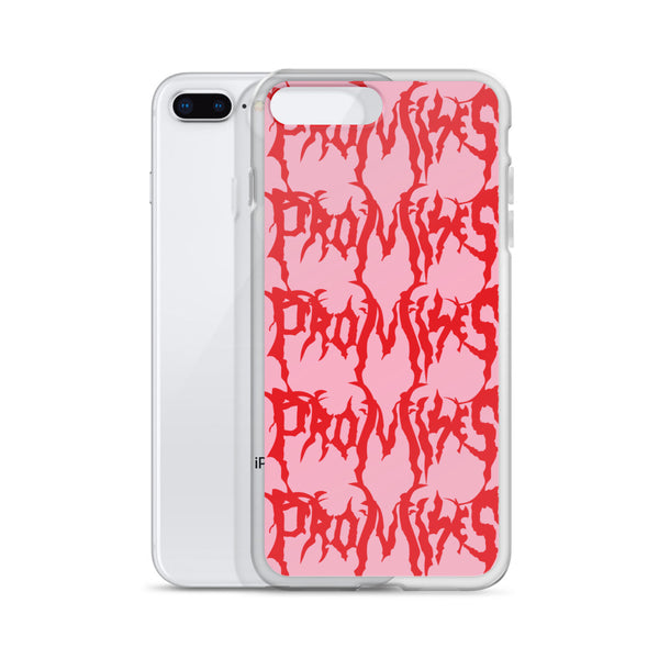 Graveyard Pink iPhone Case