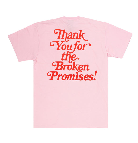 Thank You Tee Pink