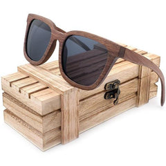 A Few Wood Men's Walnut Sunglasses