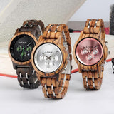 A Few Wood Men's Ready For Business Mechanical Wooden Watch for Her - A Few Wood Men