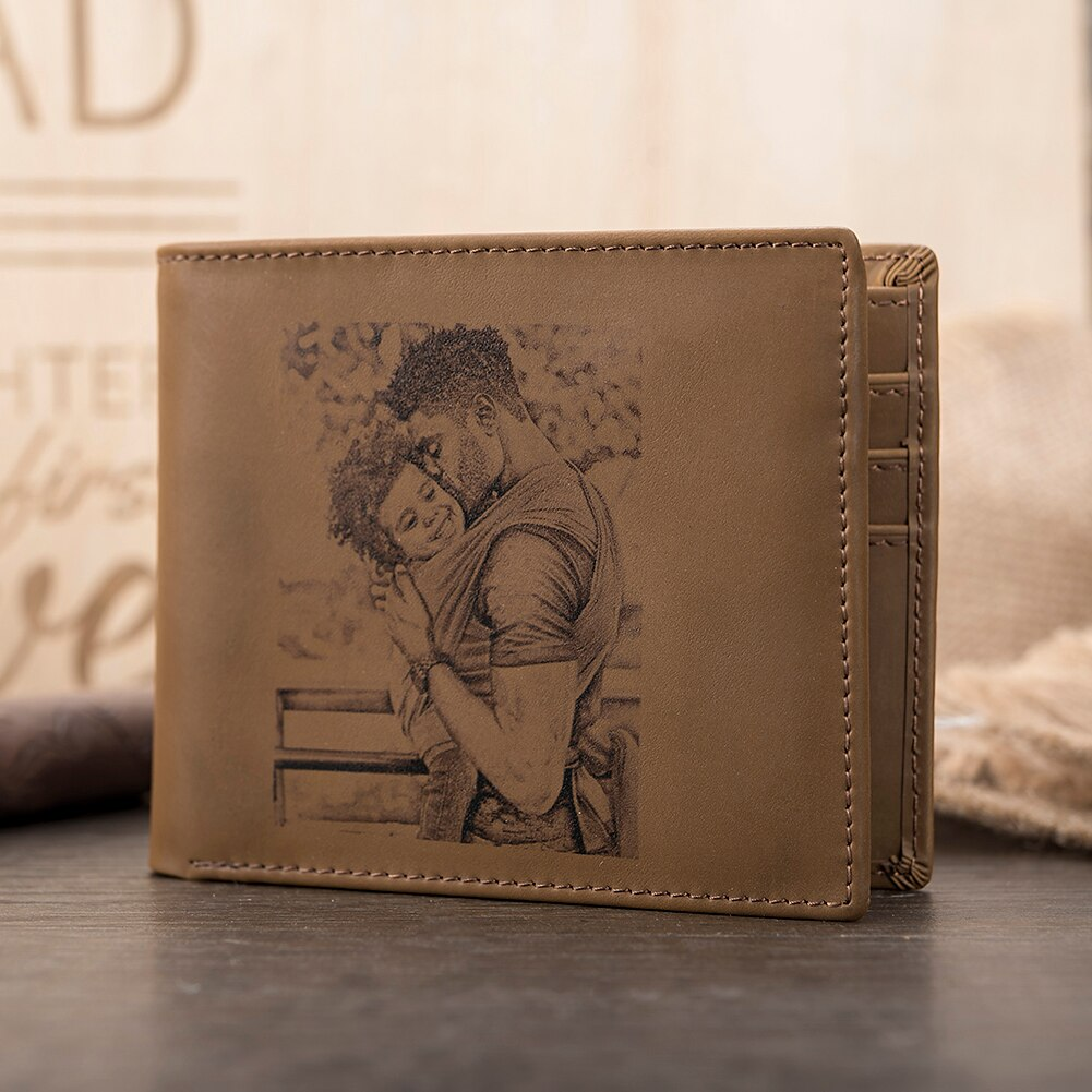 The Joshua Customized Wallet - A Few Wood Men