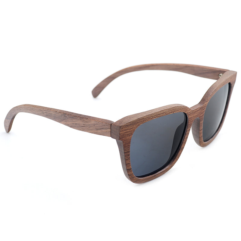 A Few Wood Men's Wooden Walnut Sunglasses - A Few Wood Men