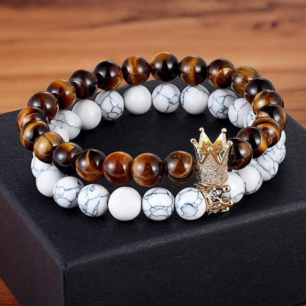 The Brice Bracelet Set - A Few Wood Men