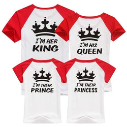 Crown for King, Queen, Prince and Princess Family T Shirt