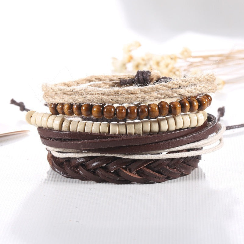 Multilayer Leather Bracelets For Women Men