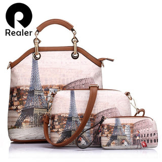 Paris Printed  Bags