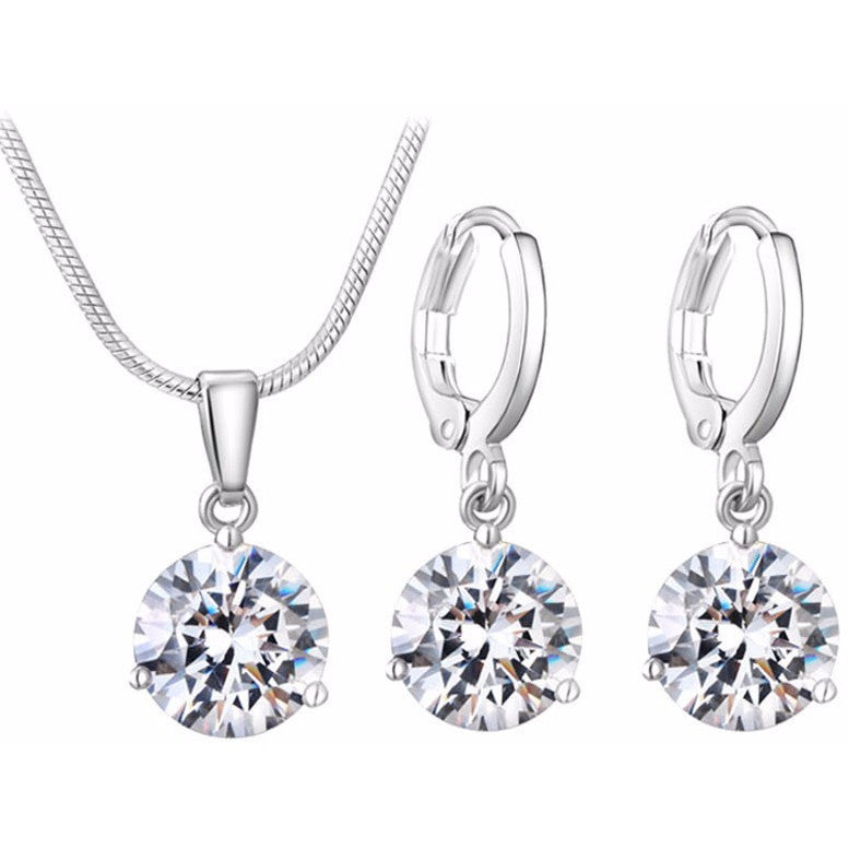 Hipoallergenic Elegant Fashion Jewelry Set