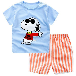 Summer 2017 Baby Boys Clothing Suit