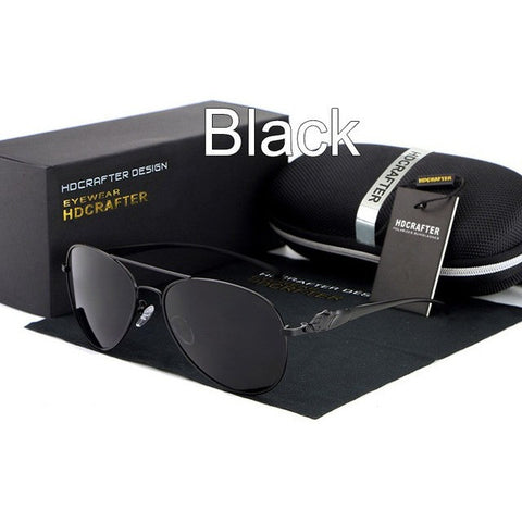 HDCRAFTER Retro Style Polarized sunglasses