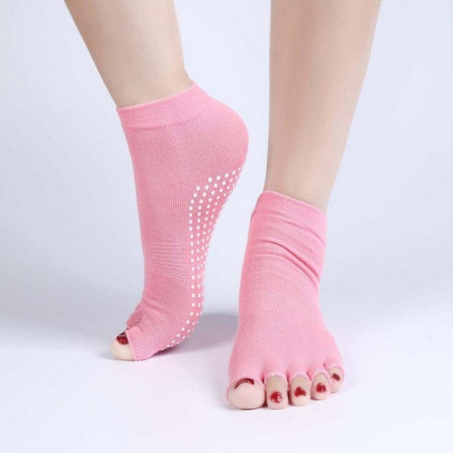 Yoga and Pilates Socks Non-Slip