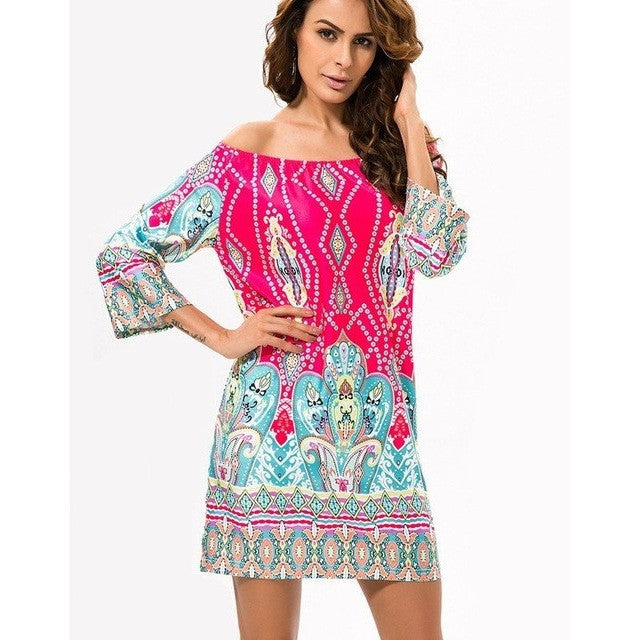 Casual Bohemian Dress