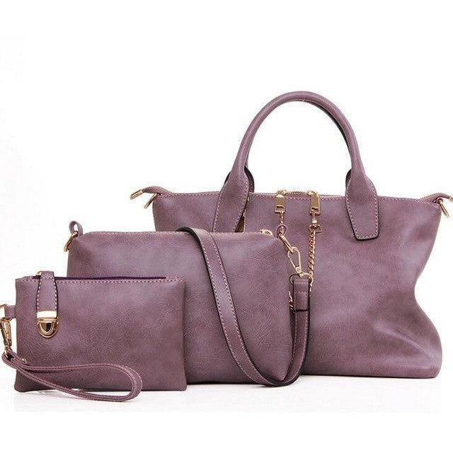 Fashion Handbags Casual Tote 3 Pcs/Set