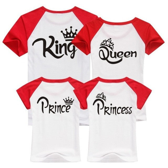 T Shirt for the Royal Family: King, Queen, Prince and Princess