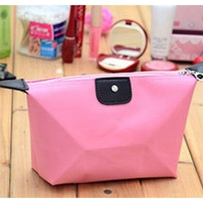 Travel Zipper Waterproof Cosmetic Bag
