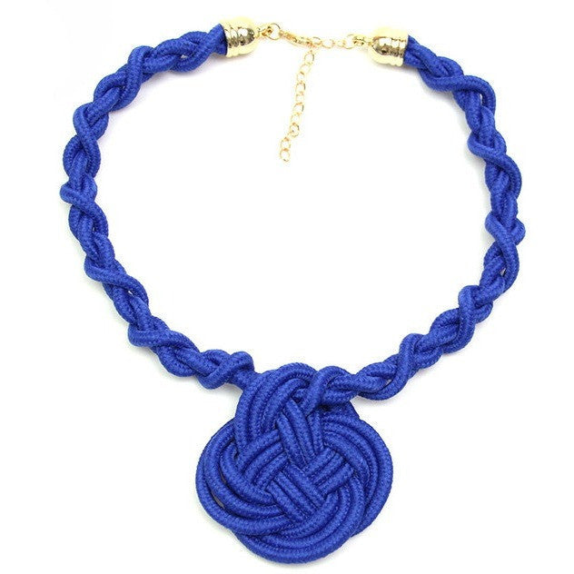 Macrame Cotton Necklace