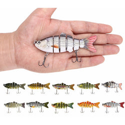 Fishing Lure Bait 10cm 20g with 2 Hooks