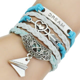 Multilayer Leather Bracelet/Bangle