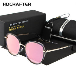 HDCRAFTER Rounded sunglasses