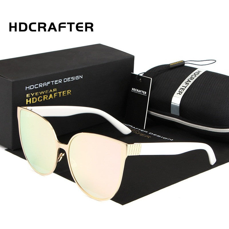 HDCRAFTER Cat Eye Luxury women sunglasses
