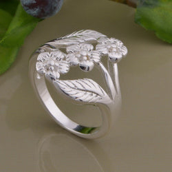 925 Silver Ring  Luxury Design