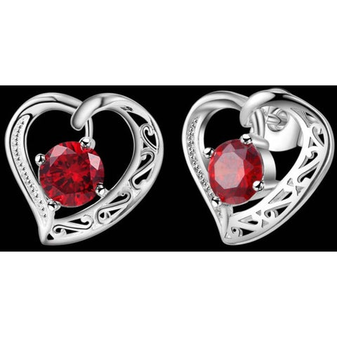 Romantic Heart Shape Earrings