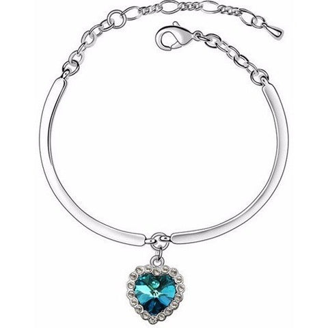 Heart of the ocean!!! titanic Bracelet
